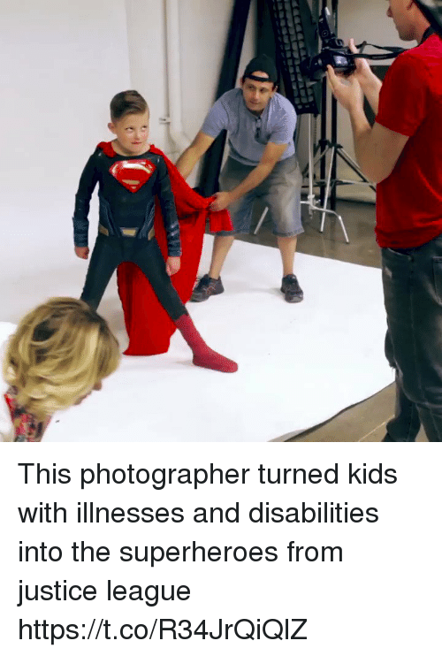 Memes, Justice, and Justice League: This photographer turned kids with illnesses and disabilities into the superheroes from justice league  https://t.co/R34JrQiQlZ