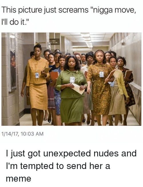 Unexpected Nudes