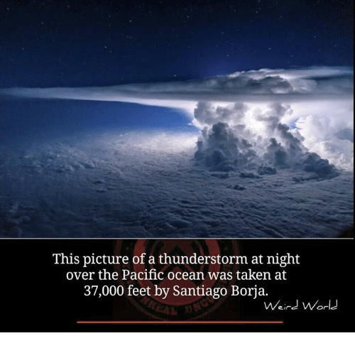 this picture of a thunderstorm at night over the pacific 5706763 ✅ 25 best memes about thunderstorm thunderstorm memes