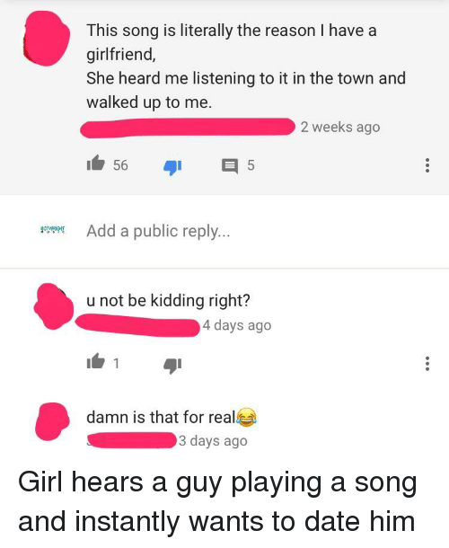 songs about dating someone with a girlfriend