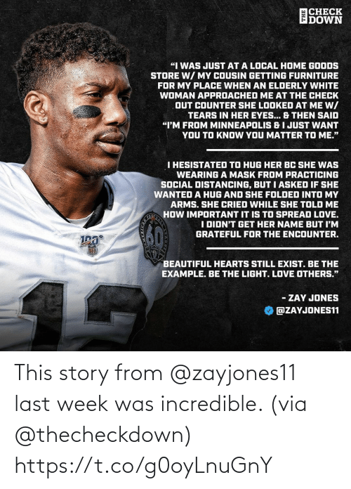 Memes, 🤖, and Via: This story from @zayjones11 last week was incredible. (via @thecheckdown) https://t.co/g0oyLnuGnY