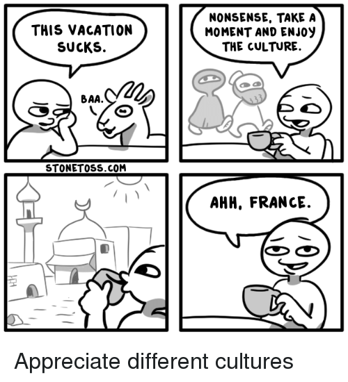 Different Cultures