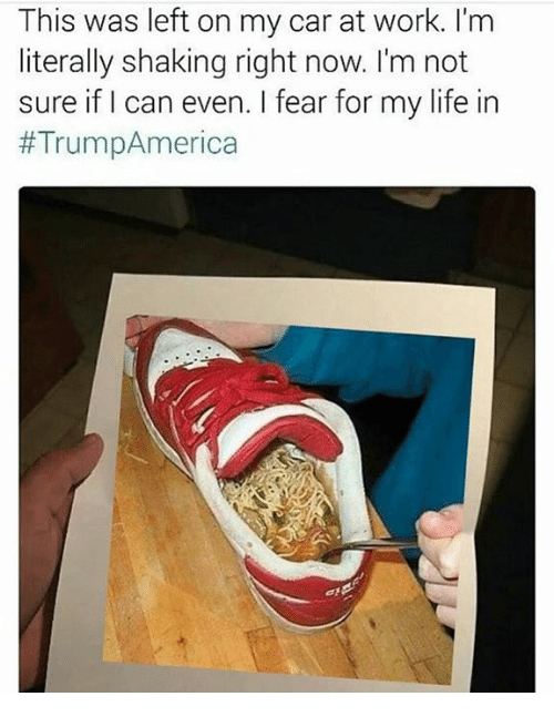 i fear for my life