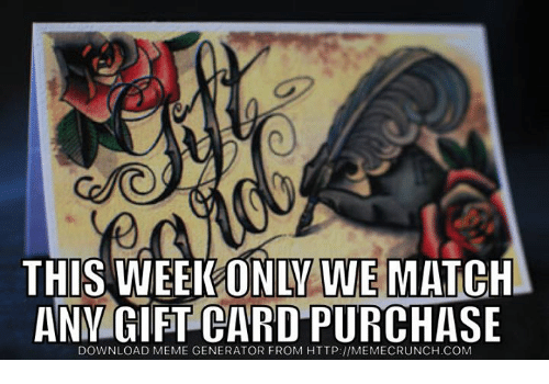 this week only we match anm gift card purchase download 6753083 ✅ 25 best memes about sports meme generator sports meme,Meme Card Generator