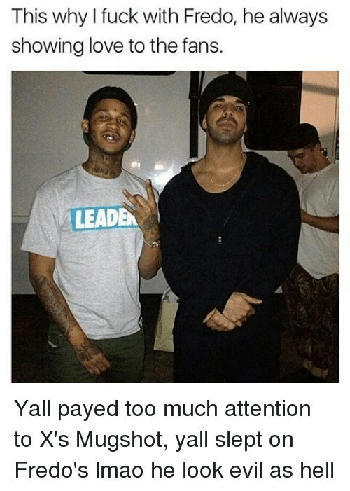 This Why I Fuck With Fredo He Always Showing Love to the