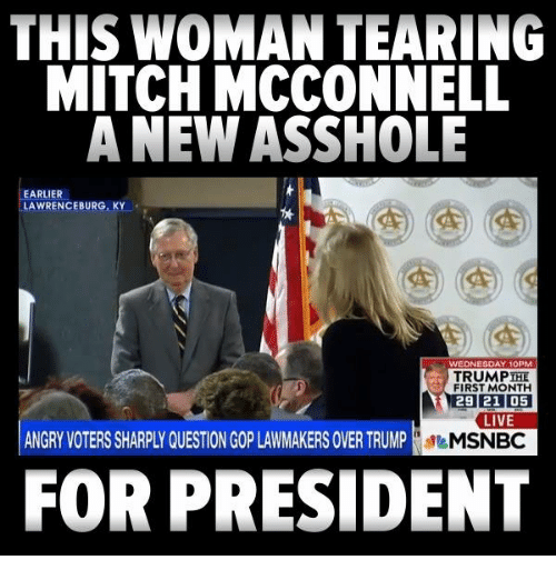 Mitch mcconnell is an asshole