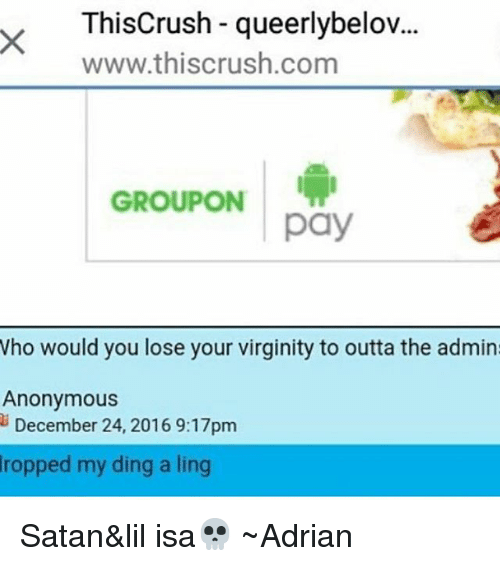 Pay to lose virginity