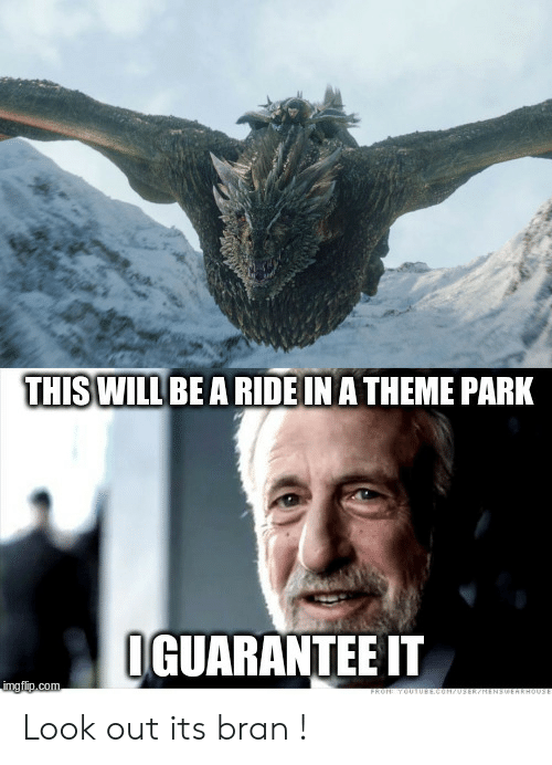 Bran, Park, and Theme: THISWILL BE A RIDE IN A THEME PARK  GUARANTEE IT Look out its bran !