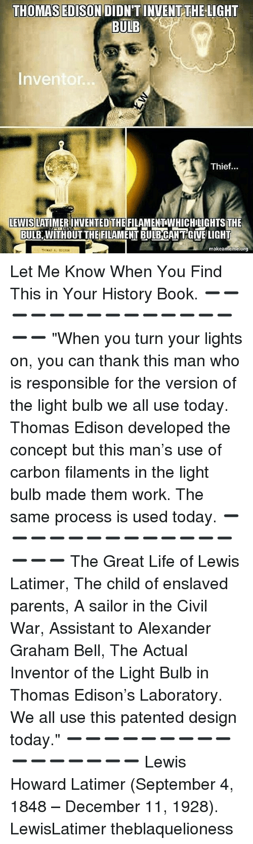 """thomas edison inventor or patent thief Thomas edison, perhaps the greatest us inventor circa 1922 to hear some  people tell it, thomas edison was nothing but a scurrilous """"patent."""