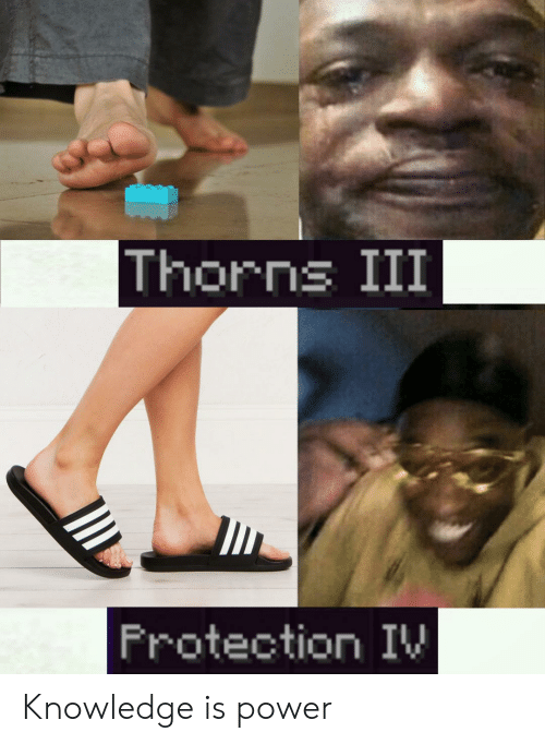 Power, Dank Memes, and Knowledge: Thorns III  Frotection IW Knowledge is power