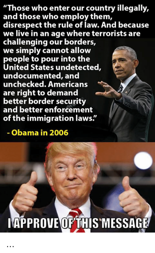 Image result for those who enter this country illegally
