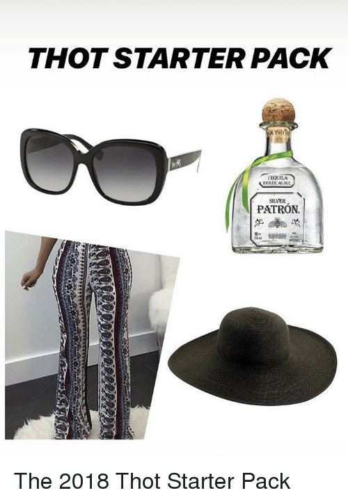 Thot Starter Pack Tequila Oode Agave Silver Patron Starter Packs