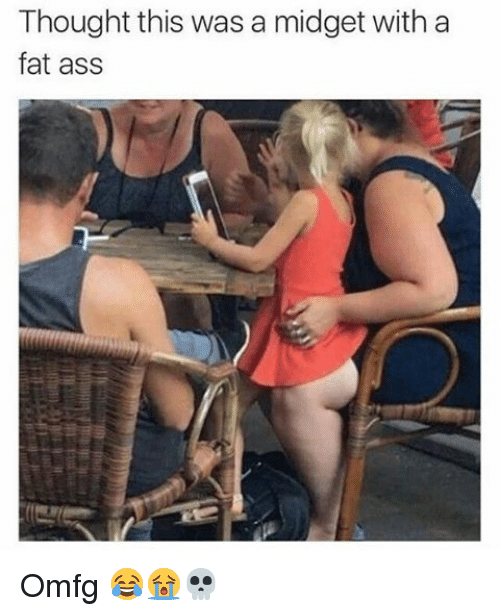 Fat ass girl photo