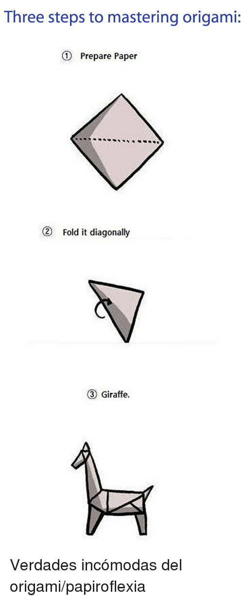 Three Steps To Mastering Origami D Prepare Paper 2 Fold It