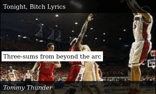 Three-Sums From Beyond the Arc | Donald Trump Meme on ME ME