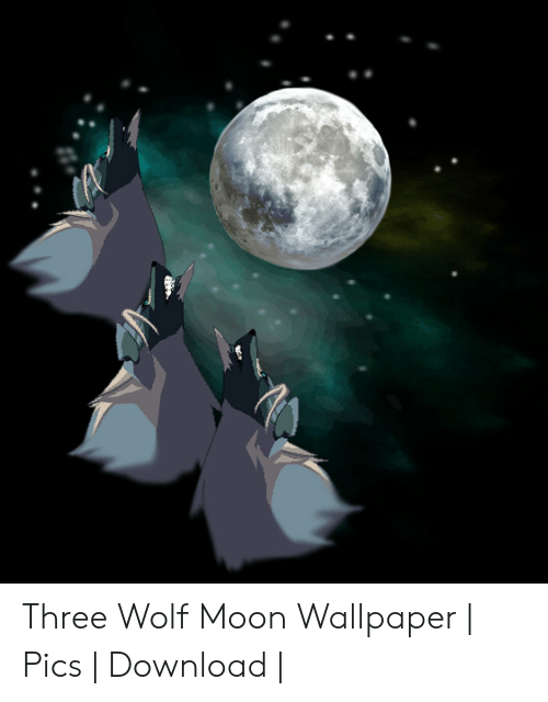 Three Wolf Moon Wallpaper Pics Download Moon Meme On