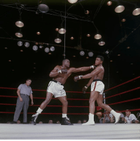 "Memes, 🤖, and Knockout: <<<comes-E Repost-@History-""On February 25, 1964, 22-year-old CassiusClay shocks the odds-makers by dethroning world heavyweight boxing champ SonnyListon in a seventh-round technical knockout"". 🥊💪💯 BlackHistoryMonth WSHH"