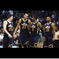 Y'all keep asking me who in the West is a threat to the Warriors? Considering Memphis is never healthy enough to compete with anyone, the Jazz have been their most challenging match up for the last 3-4 seasons. Utah combined terrific guard play with great bigs and a combo SF in their all star player. Not saying anyone can beat the Warriors. But if I had to choose a team, it's the Jazz. Thoughts? NBA UtahJazz Utah JazzNation Jazz GordonHayward: </ALE  27 ALL  33  LO  qe Y'all keep asking me who in the West is a threat to the Warriors? Considering Memphis is never healthy enough to compete with anyone, the Jazz have been their most challenging match up for the last 3-4 seasons. Utah combined terrific guard play with great bigs and a combo SF in their all star player. Not saying anyone can beat the Warriors. But if I had to choose a team, it's the Jazz. Thoughts? NBA UtahJazz Utah JazzNation Jazz GordonHayward