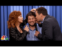 """<h2><b><a href=""""https://www.youtube.com/watch?v=Kyfoja0IPl4"""" target=""""_blank"""">Jimmy and Reba McEntire give one lucky audience member a close-up serenade</a></b></h2>: <h2><b><a href=""""https://www.youtube.com/watch?v=Kyfoja0IPl4"""" target=""""_blank"""">Jimmy and Reba McEntire give one lucky audience member a close-up serenade</a></b></h2>"""