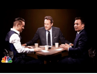 """Target, True, and youtube.com: <h2><b><a href=""""https://www.youtube.com/watch?v=LWS5bz2LGuE"""" target=""""_blank"""">Jimmy, Colin Farrell, and Vince Vaughn try to figure out who's lying and who's telling the truth in a brand new game: True Confessions!</a></b></h2>"""