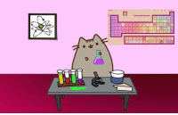 "Tumblr, Blog, and Http: <p><a class=""tumblr_blog"" href=""http://carlsagan.tumblr.com/post/78573633380/unclepolymer-pusheen-the-cat-making-some"">carlsagan</a>:</p> <blockquote> <p><a class=""tumblr_blog"" href=""http://unclepolymer.tumblr.com/post/77704334138/pusheen-the-cat-making-some-chemistry"">unclepolymer</a>:</p> <blockquote> <p>Pusheen the cat making some chemistry.</p> </blockquote> <p>That cat is not wearing safety goggles, he hasn't even bothered to clean up that spilled solvent, and he is holding that Erlenmeyer flask way too close to his face.</p> <p>Pusheen the Cat, more like Pusheen the limits of lab safety</p> </blockquote>"
