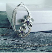 """Tumblr, Blog, and Etsy: <p><a class=""""tumblr_blog"""" href=""""http://handmadegift-ideas.tumblr.com/post/139010713834"""">handmadegift-ideas</a>:</p> <blockquote> <p><a href=""""https://www.etsy.com/il-en/listing/267387999/dual-flowers-925-sterling-silver"""">  Dual flowers 925 sterling silver pendants Necklaces filled with cold enemal personal preferance pendants Necklaces  </a><br/></p> <p><a href=""""https://www.etsy.com/il-en/shop/Levonajewelry"""">Levona Jewelry</a></p> </blockquote>"""