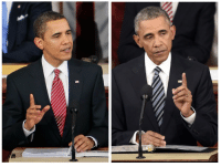 "Obama, State of the Union Address, and Target: <p><a class=""tumblr_blog"" href=""http://nenuph-ar.tumblr.com/post/137252269791"" target=""_blank"">nenuph-ar</a>:</p> <blockquote> <p><a class=""tumblr_blog"" href=""http://stability.tumblr.com/post/137251263811"" target=""_blank"">stability</a>:</p> <blockquote> <p>Obama at his first State of the Union Address and his last one</p> </blockquote> <p>even his tie went gray</p> </blockquote>"