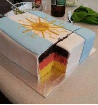 """Baked, Friends, and Target: <p><a class=""""tumblr_blog"""" href=""""http://nurdsite.tumblr.com/post/91925240110/my-buddy-tom-baked-a-cake-for-his-argentinian"""" target=""""_blank"""">nurdsite</a>:</p> <blockquote> <p>My buddy Tom baked a cake for his Argentinian friend to cheer her up after the world cup loss.</p> <p>…they are no longer friends.</p> </blockquote>"""