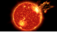 "Complex, Energy, and Life: <p><a class=""tumblr_blog"" href=""http://pictures-of-space.tumblr.com/post/144815355012"">pictures-of-space</a>:</p> <blockquote> <h2><b>  Solar Storms May Have Been Key to Life on Earth  </b></h2> <p>Our sun's adolescence was stormy—and new evidence shows that these tempests may have been just the key to seeding life as we know it.</p> <p>Some 4 billion years ago, the sun shone with only about three-quarters the brightness we see today, but its surface roiled with giant eruptions spewing enormous amounts of solar material and radiation out into space. These powerful solar explosions may have provided the crucial energy needed to warm Earth, despite the sun's faintness. The eruptions also may have furnished the energy needed to turn simple molecules into the complex molecules such as RNA and DNA that were necessary for life. The research was published in Nature Geoscience on May 23, 2016, by a team of scientists from NASA. (by   NASA's Marshall Space Flight Center)</p> </blockquote>"