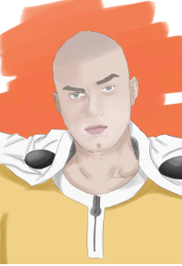 """Blessed, One-Punch Man, and Sorry: <p><a class=""""tumblr_blog"""" href=""""http://rinron.tumblr.com/post/145630040613"""">rinron</a>:</p> <blockquote> <p><a class=""""tumblelog"""" href=""""https://tmblr.co/mBzwehFPuDrE1Hl_h5zPkgQ"""">@setheverman</a> I am so sorry but my sister wanted me to make this   <br/></p> </blockquote>  <p>you drew me as one punch man!!! i feel so blessed!</p>"""