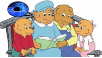 "Berenstain Bears, Books, and Children: <p><a class=""tumblr_blog"" href=""http://theavc.tumblr.com/post/126364951791"">theavc</a>:</p> <blockquote> <h2><b><a href=""http://www.avclub.com/article/how-you-spell-berenstain-bears-could-be-proof-para-223615"">How you spell ""The Berenstain Bears"" could be proof of parallel universes</a></b></h2> <blockquote><p>""You need to look up the Berenst#in Bears problem.""</p></blockquote> <p>It was this innocent comment left on a post about parallel universes that first pulled by <a href=""http://www.strangerdimensions.com/2015/01/21/the-berenstin-bears-problem-are-we-living-in-an-alternate-worldline/"">Rob Schwarz of </a><i><a href=""http://www.strangerdimensions.com/2015/01/21/the-berenstin-bears-problem-are-we-living-in-an-alternate-worldline/"">Stranger Dimensions</a> </i>into one of the internet's strangest theories. It involves The Berenstein Bears,<i> </i>a loving family of anthropomorphized bears who taught children life lessons via hundreds of picture books and two TV shows. But the problem is they aren't <i>The Berenstein Bears, </i>they're <i>The Berenstain Bears.</i></p> <p>Though a startling number of people remember the name as BerenstEin, it's in fact spelled BerenstAin, just like the authors Stan and Jan Berenstain. But is it possible that so many people are just wrong about the title? Back in 2012, <a href=""http://woodbetweenworlds.blogspot.com/2012/08/the-berenstein-bears-we-are-living-in.html"">blogger Reece</a>offered up another explanation: Some of us have recently crossed over from a parallel universe.</p> <p>He argues:</p> <blockquote><p>… at some time in the last 10 years or so, reality has been tampered with and history has been retroactively changed. The bears <i>really were </i>called the ""BerenstEin Bears"" when we were growing up, but now reality has been altered such that the name of the bears has been changed post hoc.</p></blockquote> <figure class=""tmblr-full"" data-orig-height=""246"" data-orig-width=""608""><img src=""https://78.media.tumblr.com/d8a52c2fd54b490097fe8868e0ca69db/tumblr_inline_nsvw8gFfCh1r079yu_540.jpg"" data-orig-height=""246"" data-orig-width=""608""/></figure><blockquote><p>Somehow, we have all undergone a π/2 phase change in all 4 dimensions so that we moved to the stAin hexadectant, while our counterparts moved to our hexadectant (stEin). They are standing around expressing their confusion about the ""Berenstein Bears"" and how they all remember ""Berenstain Bears"" on the covers growing up.</p></blockquote> <p>Those who remember the name as ""Berenstain"" are native to this ""A"" Universe, while those who are sure it's ""Berenstein"" traveled over from the ""E"" Universe.</p> <p><b>More at avclub.com</b></p> </blockquote>"