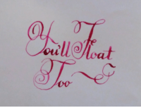 """Life, Tumblr, and Blog: <p><a href=""""http://calligraphy.life/post/167958565842/calligraphy"""" class=""""tumblr_blog"""">calligraphy</a>:</p><blockquote> <p>We are all floating down there!<br/>Calligraphy by <a href=""""https://tmblr.co/mE8XUpx9fLiHfsxT0cwwsFA"""">@therabine</a>, <a href=""""http://Patreon.com/Therabine"""">Patreon</a></p> <hr><p>Live the <b><a href=""""http://CalligraphyLife.org"""">CalligraphyLife.org</a></b></p> </blockquote>"""