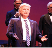 "<p><a href=""http://captainsnoop.tumblr.com/post/168709171190/the-donald-trump-animatronic-at-disneylands-hall"" class=""tumblr_blog"">captainsnoop</a>:</p>  <blockquote><p>the donald trump animatronic at disneyland's hall of presidents looks like they made an animatronic for hillary, went ""oh fuck"" and stretched a hastily-made donald trump skin over hillary's facial structure </p></blockquote>  <p>&ldquo;El animatronico de Trump en el Salón de lo Presidentes de Disney parece un intento de animatronico de Hillary reconvertido chapuceramente a Trump&rdquo;</p>: <p><a href=""http://captainsnoop.tumblr.com/post/168709171190/the-donald-trump-animatronic-at-disneylands-hall"" class=""tumblr_blog"">captainsnoop</a>:</p>  <blockquote><p>the donald trump animatronic at disneyland's hall of presidents looks like they made an animatronic for hillary, went ""oh fuck"" and stretched a hastily-made donald trump skin over hillary's facial structure </p></blockquote>  <p>&ldquo;El animatronico de Trump en el Salón de lo Presidentes de Disney parece un intento de animatronico de Hillary reconvertido chapuceramente a Trump&rdquo;</p>"