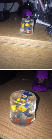 """<p><a href=""""http://curioscurio.tumblr.com/post/160987093567/using-a-hollowed-out-coffee-pod-as-a-mold-ive"""" class=""""tumblr_blog"""" target=""""_blank"""">curioscurio</a>:</p><blockquote><p>using a hollowed out coffee pod as a mold, ive trapped peanut sonic in a resin prison. he can never go fast again. he's eternally silenced.</p></blockquote>: <p><a href=""""http://curioscurio.tumblr.com/post/160987093567/using-a-hollowed-out-coffee-pod-as-a-mold-ive"""" class=""""tumblr_blog"""" target=""""_blank"""">curioscurio</a>:</p><blockquote><p>using a hollowed out coffee pod as a mold, ive trapped peanut sonic in a resin prison. he can never go fast again. he's eternally silenced.</p></blockquote>"""