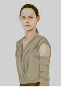 """Ipad, Rey, and Star Wars: <p><a href=""""http://fahray.tumblr.com/post/170752290745/rey-star-wars-was-trying-to-achieve-a"""" class=""""tumblr_blog"""" target=""""_blank"""">fahray</a>:</p> <blockquote> <p>Rey, Star Wars. <br/> Was trying to achieve a watercolor look.</p>  <p>Done on Procreate for iPad.</p> </blockquote>"""