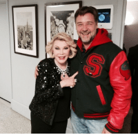 """<p><a href=""""http://instagram.com/p/mEH8B7h_40/"""" target=""""_blank""""><strong>Backstage at the Tonight Show</strong></a></p> <p>Pals Joan Rivers and Russell Crowe hanging out behind the scenes last night!</p>: <p><a href=""""http://instagram.com/p/mEH8B7h_40/"""" target=""""_blank""""><strong>Backstage at the Tonight Show</strong></a></p> <p>Pals Joan Rivers and Russell Crowe hanging out behind the scenes last night!</p>"""