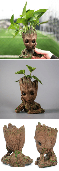 """Birthday, Cute, and Family: <p><a href=""""http://introvertnation.net/post/173497227670/saltycaffeine-cute-and-adorable-baby-groot"""" class=""""tumblr_blog"""">introvertproblems</a>:</p><blockquote> <p><a href=""""http://saltycaffeine.tumblr.com/post/173179182030/cute-and-adorable-baby-groot-flower-pot-that-can"""" class=""""tumblr_blog"""">saltycaffeine</a>:</p> <blockquote> <p>Cute and Adorable baby GROOT flower pot that can be placed on your desk, or outside in the garden. Makes an AMAZING home decor! The perfect birthday present for your friends and family!</p> <p>USE CODE: <b>GROOT</b> FOR A DISCOUNT*</p> <p><b><a href=""""https://www.ess6fashion.com/products/groot-planter-pot"""">GET YOURS HERE&lt;=</a></b></p> </blockquote> <figure class=""""tmblr-full"""" data-orig-height=""""234"""" data-orig-width=""""500"""" data-tumblr-attribution=""""marvelheroes:gBhbJpWXsZejWSn521_bDw:Zh5eWm2XNV0FW""""><img src=""""https://78.media.tumblr.com/851d2a082219e603cc19ea355df4db73/tumblr_p68u14gbor1tlgqkgo1_r1_500.gif"""" data-orig-height=""""234"""" data-orig-width=""""500""""/></figure></blockquote>"""