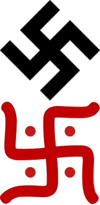 "My House, Tumblr, and Blog: <p><a href=""http://irisxwestallen.tumblr.com/post/156850309123/public-service-announcement-the-nazi-swastika"" class=""tumblr_blog"">irisxwestallen</a>:</p><blockquote> <p>PUBLIC SERVICE ANNOUNCEMENT: </p>  <p>THE NAZI SWASTIKA AND THE HINDU SWASTIKA ARE NOT THE SAME THING. </p>  <p>The Hindu swastika, which is actually in my house, represents good fortune and happiness, and was used long before Hitler stepped foot on this planet. Also, it is normally straight, and has dots in between. </p>  <p>The Nazi swastika, which obviously represents hatred of Jews, is normally on an angle, and has no dots in between. </p>  <p>DO NOT MIX IT UP, OR CALL AN INDIAN WHO HAS THIS IN THEIR HOME A NAZI. </p>  <p>IT IS NOT THE SAME THING.</p> </blockquote>  <p>Indian: * has a traditional symbol hanging up in their house*<br/>Tumblr: &ldquo;what are you some kind of Nazi shitlord???&rdquo;</p>"