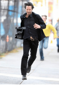 Keanu Reeves Running