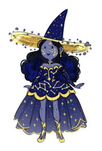 """Tumblr, Blog, and Http: <p><a href=""""http://mayakern.tumblr.com/post/173297004426/was-designing-a-lunar-themed-witch-for-patrons-but"""" class=""""tumblr_blog"""">mayakern</a>:</p>  <blockquote><p>was designing a lunar themed witch for patrons but she ended up being a space themed witch! this + many more sketches are up on my patreon</p><p>patreon.com/mayakern</p></blockquote>"""