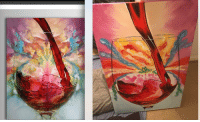 """Amazon, Tumblr, and Wine: <p><a href=""""http://memehumor.net/post/175974482928/ordered-art-from-amazon-left-side-was-the-sample"""" class=""""tumblr_blog"""">memehumor</a>:</p>  <blockquote><p>Ordered art from Amazon, left side was the sample, right side is what actually arrived. Didn't Wine about it, just laughed.</p></blockquote>"""