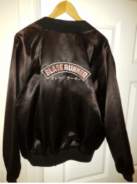 """<p><a href=""""http://scifiseries.tumblr.com/post/157306613304/my-fathers-blade-runner-crew-jacket"""" class=""""tumblr_blog"""">scifiseries</a>:</p>  <blockquote><p>My father's Blade Runner crew jacket</p></blockquote>: <p><a href=""""http://scifiseries.tumblr.com/post/157306613304/my-fathers-blade-runner-crew-jacket"""" class=""""tumblr_blog"""">scifiseries</a>:</p>  <blockquote><p>My father's Blade Runner crew jacket</p></blockquote>"""