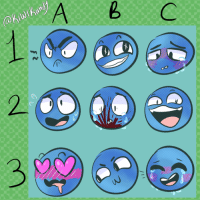 """Lol, Meme, and Target: <p><a href=""""http://shyartchild.tumblr.com/post/170418896147/started-out-with-me-drawing-faces-and-then-turned"""" class=""""tumblr_blog"""" target=""""_blank"""">shyartchild</a>:</p><blockquote> <p>started out with me drawing faces and then turned into this–</p> <p>I feel it's almost tradition now that I draw an expression meme every so often lol.<br/></p> </blockquote>"""