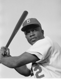 """Baseball, Black History Month, and Dodgers: <p><a href=""""http://slytherinconservative.tumblr.com/post/156675906399/since-february-is-black-history-month-ive"""" class=""""tumblr_blog"""">slytherinconservative</a>:</p>  <blockquote><p><a href=""""https://proudblackconservative.tumblr.com/post/156675877560/since-february-is-black-history-month-ive"""" class=""""tumblr_blog"""">proudblackconservative</a>:</p><blockquote> <p>Since February is Black history month, I've decided to do my part and share some tidbits from Black history every day. I'm hoping to bring to light some lesser-known figures in black history along with some of the more common ones.</p>  <p>Today's figure: Jackie Robinson</p>  <p>'Jackie Robinson, the first Black baseball player in the major leagues, was born in Cairo, GA, on January 31, 1919. Robinson joined the Brooklyn Dodgers in 1947, ending five decades of segregated baseball. At the time of his retirement in October 1972, Robinson is believed to have been the most respected of all baseball players.'<br/> (photo: Jackie Robinson)<br/> - CARTER Magazine</p> </blockquote> <p>Wasn't there a movie on this guy?<br/></p></blockquote>  <p>Yep! Recently there was one with Harrison Ford I think.</p>"""