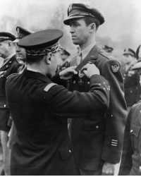 """America, Tumblr, and Army: <p><a href=""""http://warhistoryonline.tumblr.com/post/163614978395/james-stewart-served-as-a-pilot-in-world-war-ii"""" class=""""tumblr_blog"""">warhistoryonline</a>:</p>  <blockquote><p>James Stewart served as a pilot in World War II, initially rejected by the army for being underweight, despite wanting to serve. So, he went home, gained some weight, and was able to enlist. During the war, due to his celebrity status, he was kept in America, but after two years, his request to join the battle overseas was finally answered, where he flew in many dangerous missions, earning a good collection of medals and awards. <a href=""""http://bit.ly/2uPhILI"""">http://bit.ly/2uPhILI</a></p></blockquote>  <p>Jimmy Stewart is the bomb.</p>"""