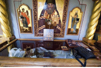 """<p><a href=""""http://wisdom-of-the-holy-fathers.tumblr.com/post/151728297224/uncovering-of-the-relics-1993-of-saint-john"""" class=""""tumblr_blog"""">wisdom-of-the-holy-fathers</a>:</p>  <blockquote><p>Uncovering of the Relics (1993) of Saint John (Maximovitch) of Shanghai and San Francisco<br/> (+1966)<br/> 29 September/12 October</p></blockquote>: <p><a href=""""http://wisdom-of-the-holy-fathers.tumblr.com/post/151728297224/uncovering-of-the-relics-1993-of-saint-john"""" class=""""tumblr_blog"""">wisdom-of-the-holy-fathers</a>:</p>  <blockquote><p>Uncovering of the Relics (1993) of Saint John (Maximovitch) of Shanghai and San Francisco<br/> (+1966)<br/> 29 September/12 October</p></blockquote>"""