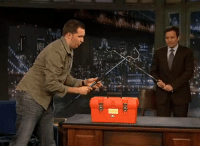 "Target, Animal, and Http: <p><a href=""http://www.latenightwithjimmyfallon.com/blogs/2011/10/tonight-find-out-what-animal-is-in-this-box"" target=""_blank"">WHAT&rsquo;S IN THE TOOLBOX?</a> Tune in tonight to find out. It&rsquo;s scary!</p>"