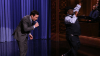 """<p><a href=""""http://www.nbc.com/the-tonight-show/segments/3811"""" target=""""_blank"""">Cedric the Entertainer jams with The Roots and Jimmy</a> about how tough it is to start getting grey hair.</p>: <p><a href=""""http://www.nbc.com/the-tonight-show/segments/3811"""" target=""""_blank"""">Cedric the Entertainer jams with The Roots and Jimmy</a> about how tough it is to start getting grey hair.</p>"""