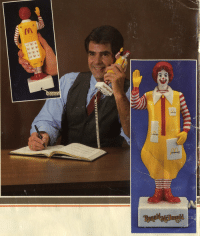 """<p><a href=""""https://libertybill.tumblr.com/post/165209913132/gameraboy-1987-ronald-mcdonald-phone-a-better"""" class=""""tumblr_blog"""">libertybill</a>:</p><blockquote> <p><a href=""""http://randar.com/post/145354653380/1987-ronald-mcdonald-phone"""" class=""""tumblr_blog"""">gameraboy</a>:</p> <blockquote><p><a href=""""https://flic.kr/p/5DuvBL"""">1987 Ronald McDonald phone</a></p></blockquote>  <p>A better timeline</p> </blockquote>  <p>You just dial on Ronald&rsquo;s ass and hold it to your ear</p>: <p><a href=""""https://libertybill.tumblr.com/post/165209913132/gameraboy-1987-ronald-mcdonald-phone-a-better"""" class=""""tumblr_blog"""">libertybill</a>:</p><blockquote> <p><a href=""""http://randar.com/post/145354653380/1987-ronald-mcdonald-phone"""" class=""""tumblr_blog"""">gameraboy</a>:</p> <blockquote><p><a href=""""https://flic.kr/p/5DuvBL"""">1987 Ronald McDonald phone</a></p></blockquote>  <p>A better timeline</p> </blockquote>  <p>You just dial on Ronald&rsquo;s ass and hold it to your ear</p>"""