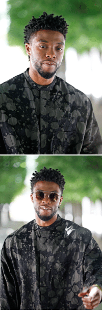"<p><a href=""https://mcavoys.tumblr.com/post/175210168297/chadwick-boseman-louis-vuitton-menswear"" class=""tumblr_blog"">mcavoys</a>:</p> <blockquote><p><b>CHADWICK BOSEMAN</b><br/><small> Louis Vuitton Menswear Spring/Summer 2019, Paris Fashion Week 